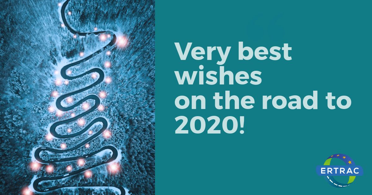 ERTRAC best wishes for 2020