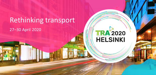 #TRA2020 Rethinking transport April 2020 Helsinki showing a lighted street